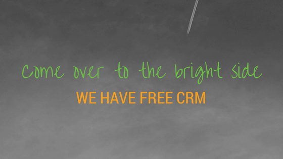 Come to Bright Side for Free CRM header photo